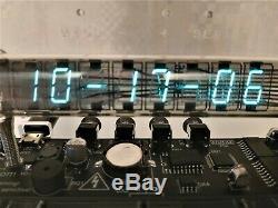 100% ASSEMBLED Ice tube clock IV-18 VFD nixie tube Adafruit clock vintage gifts