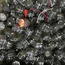 100x IN-4 nixie tubes for DIY clock neon indicators NOS