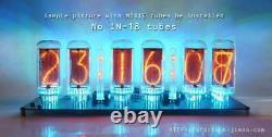 12V-No Tube, No enclosure-DIP-DIMMER-Pluggable-IN-18 6-Tube NIXIE Clock