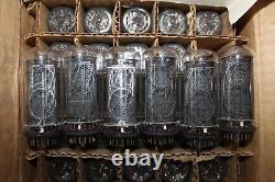 4pcs IN-18 IN18 Nixie Tubes for Clock Tube Tested NOS USSR One party SAME DATE