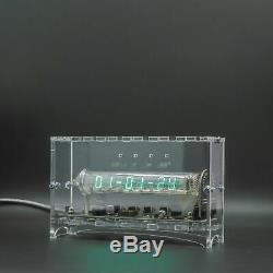 Adafruit Ice Tube IV-18 VFD-Nixie-Röhrenuhr zusammengebautes Acrylgehäuse