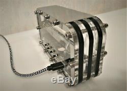 Adafruit Ice tube clock IV-18 VFD nixie tube clock steampunk vintage desk clock