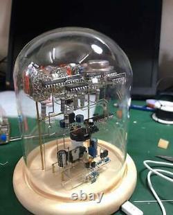 Assembled Nixie Tubes Clock and CalendarHandmade stereoscopic circuit