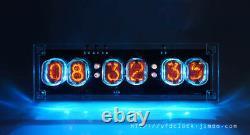 DIMMER Ver-Pluggable-USB Powered SZ-J2/QS27-1 6-Tube NIXIE Clock-NIXIE TUBE ERA