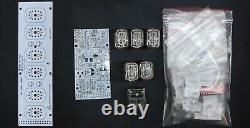 DIY KIT IN-12 Nixie Tube Clock with Acrylic Stand WITH TUBES FREE SHIPPING