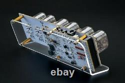DIY KIT IN-12 Nixie Tubes Clock with Acrylic Stand WITH OPTIONS FREE SHIPPING
