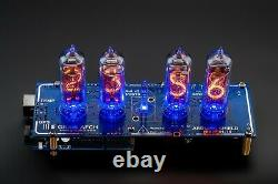 DIY KIT IN-14 Arduino Shield NCS314-4 Nixie Clock WITH TUBES Shipping 3-5 Days