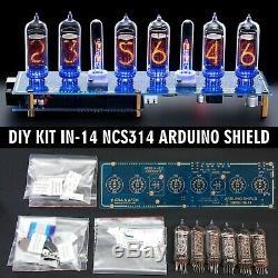 DIY KIT IN-14 Arduino Shield NCS314 Tubes, Columns Shipping 3-5 Days
