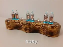 Dacian Nixie Clock Uhr IN14 tubes RGB LEDs by Monjibox