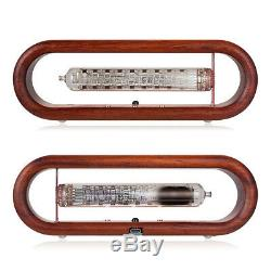 Douk Audio / IV-18 VFD Nixie Tube Alarm Clock Wooden WiFi Remote Control