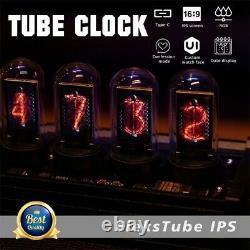 EleksTube IPS 10 Bit RGB Nixie Tube Glows DIY Electronic Digital LED Desk Clock