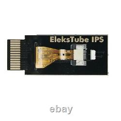 EleksTube IPS RGB Nixie Tube Clock Glow Tube Clock Customized Dial Styles sz8