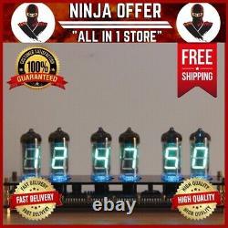 Elekstube Ips Rgb Nixie Tube Clock Glow Customized Dial Styles Creative Decor