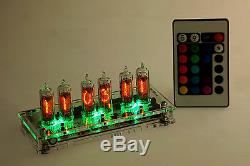 Emilija RGB II Nixie Clock IN-16 russian Six Digit Tubes Tube Clock with remote