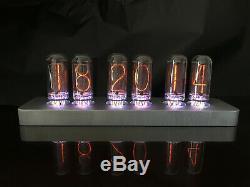 Exclusive Nixie Tube Clock ASTRONIX IN-18 IN18 DELUXE ALUMINUM SLIM