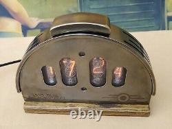 Fallout 76 inspired nixie tube clock
