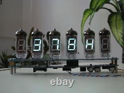 Full WiFi NTP Thermometer Hygrometer Alarm clock V11 VFD tubes (Nixie era)