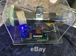 Homemade Mini Oscilloscope Clock DG7-32 3 CRT Cathode ray tube Scope Nixie