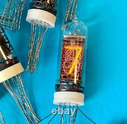 IN-14 -14 IN14 GAZOTRON. Nixie tubes for clock. New. Same date. Lot 18 pcs