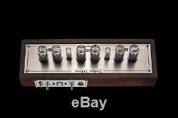 IN-14 Fine Grid Vintage NIXIE Tubes Clock (USB) Divergence Meter GRA&AFCH
