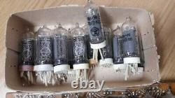 IN-14 NIXIE TUBES USSR unsoldered TESTED unused for NIXIE CLOCKS 10 PCS SET