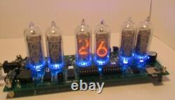 IN-14 Nixie Tube Clock with weather station KIT DIY With tube in-14