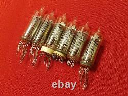 IN-16 IN16 Nixie Tube ussr vintage lamp for clock -16 USED TESTED 100pcs