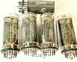 IN-18 IN18 -18 Nixie indicator tube for clock. Used. Lot 7 pcs