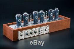 IN-18 NIXIE Tubes Clock Divergence Meter GPS Sync. 12/24H, 3-5Days FREE Shipping