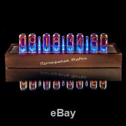 IN-18 NIXIE Tubes Clock Extreme Large 8 tubes Divergence Meter FAST delivery UPS