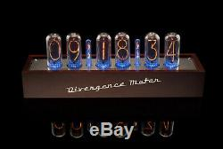 IN-18 Nixie Tubes Clock in Wooden Case without Tubes