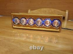 IN-1 Nixie clock, With Tubes and power supply, (EU)