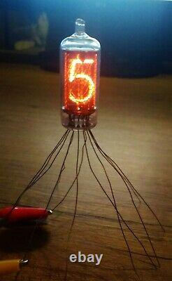 IN-8-2 6 pcs NEW NIXIE TUBE for clock USSR NOS Tested Working