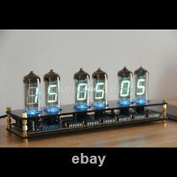 IV11 VFD Clock Fluorescent Nixie Clock 6 Colors Light Display Date Temperat