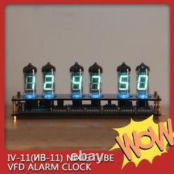 IV11 VFD Tubes (Nixie Era) Alarm Clock DIY Vintage Retro Desk Assembly Kit