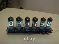 IV11 VFD tubes (Nixie era) alarm clock uhr assembled kit by Monjibox Nixie