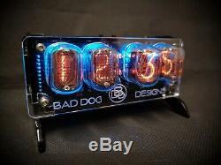 Junior' Desktop Nixie tube Clock from Bad Dog Designs