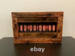 Large Nixie Clock IN-18 (with x8 Tubes) (Yes Milliseconds)