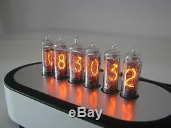 Monjibox PJ600 Series Nixie Clock IN16 tubes Aluminium case