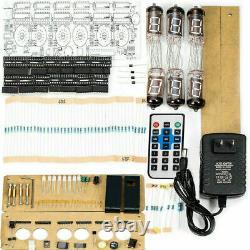 NEW Vintage Retro Desk 6× IV-11(-11) Nixie Tube VFD Clock DIY KIT Display