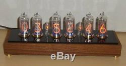 NIXIE Clock based on six IN-14 Nixie tubes / ZEGAR NIXIE 6 x IN-14