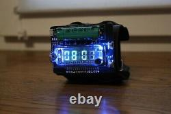 NIXIE TUBE WRIST WATCH VFD ERA CLOCK BASED ON IVL2-7/5, shipping from the US