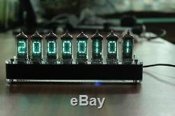 NIXT CLOCK With Tubes With Case IV-17 VFD Clock Scrolling Text nixie clock