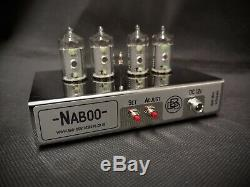 Naboo' Contemporary Stainless Steel Nixie tube Clock from Bad Dog Designs