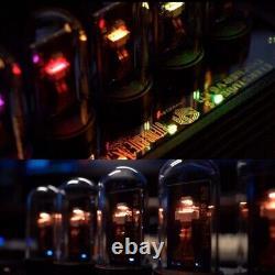New EleksTube IPS 10 Bit RGB Nixie Tube Glows Electronic Digital LED Desk Clock