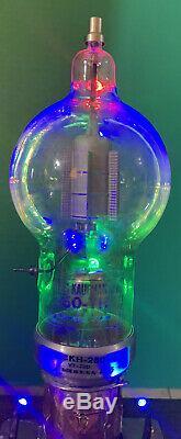 Nixie Clock IN-14 Tube. Steampunk. Lit JAN-CKH-250-TH Heintz & Kaufmann & Ring