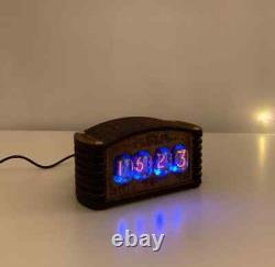 Nixie Clock Kit IN-12 (With tubes) and Wooden Enclosure
