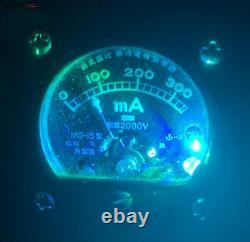 Nixie IN-14 Tube Steampunk Clock. Mystery Tungar Tube, Cute Japanese Ammeter