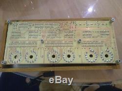 Nixie Tube Clock 6x z566m Nixie Clock Metal/wood chassi