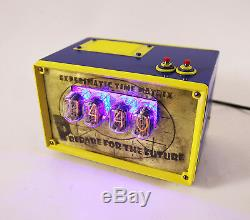 Nixie Tube Clock IN-12 Man cave Fallout Shelter Vault Steampunk Vintage Retro